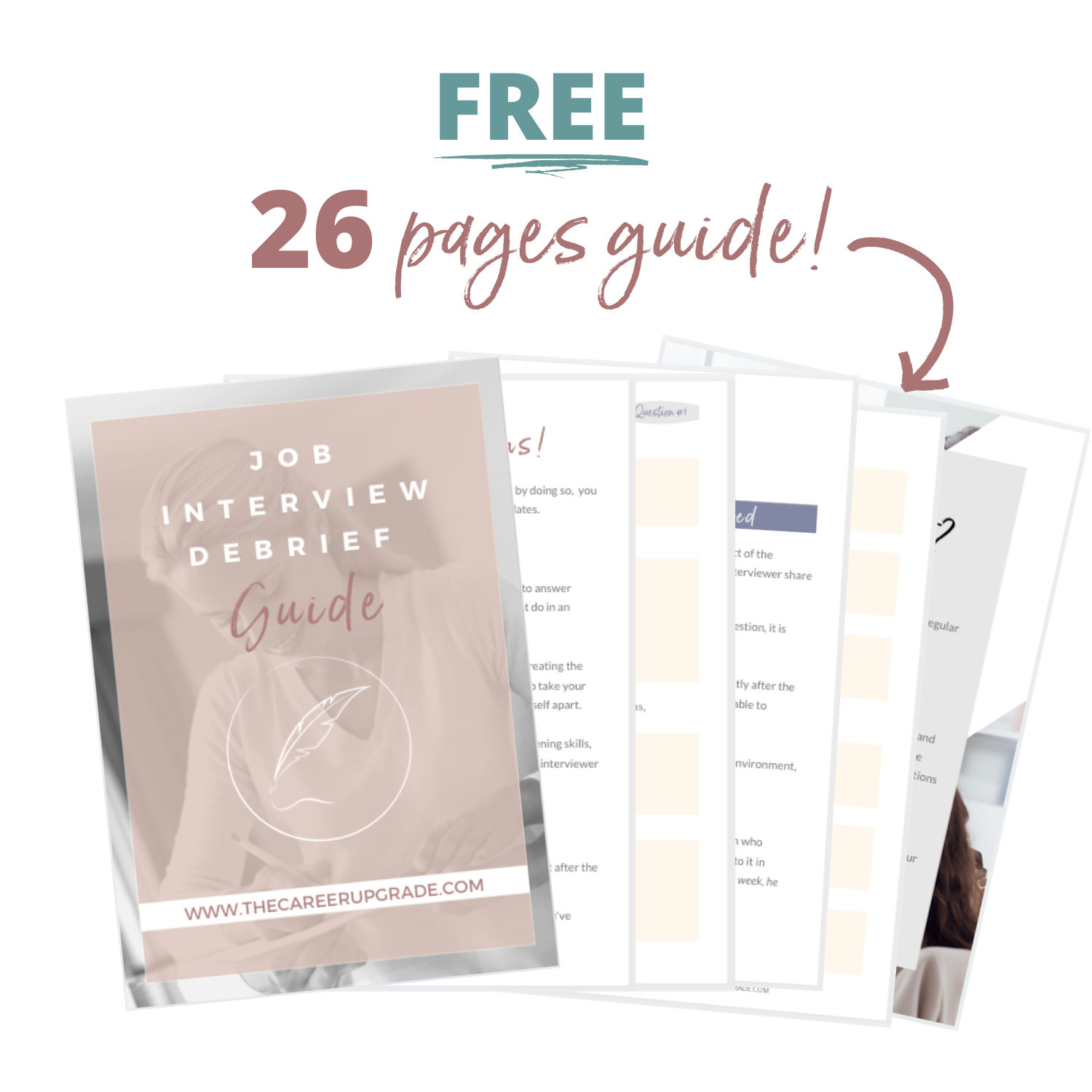 Copy of Copy of Free 26 page guide The Career Upgrade
